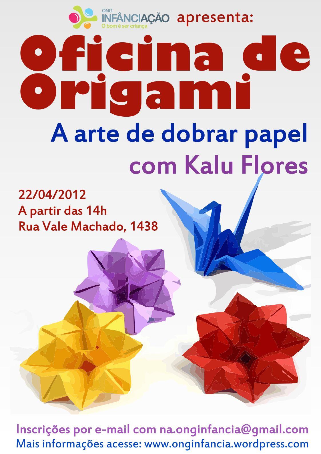 Oficina de origami a arte de dobrar papel for Papel para oficina