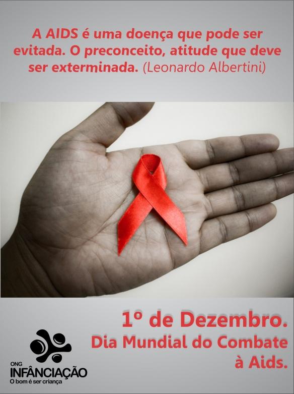 1º de dezembro - dia do combate a aids