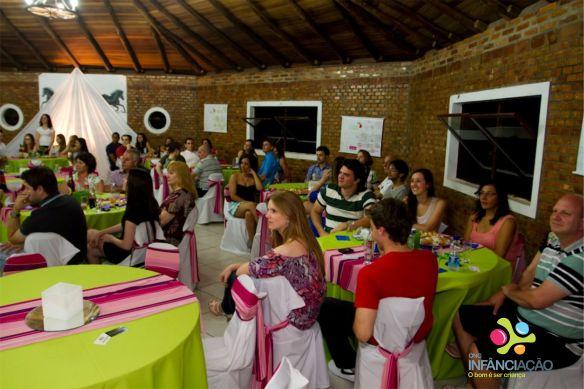 Festa contou com a presença de voluntários, amigos e familiares - Foto: Rafael Santini