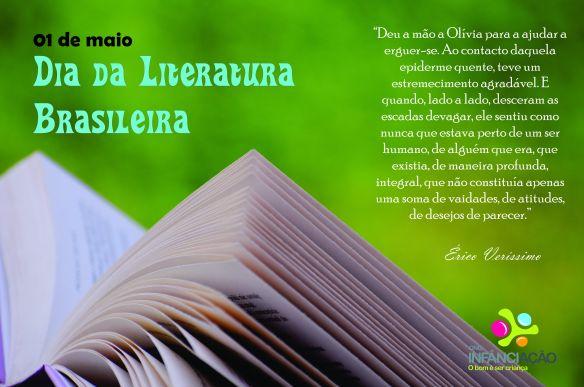 Dia da Literatura Brasileira!