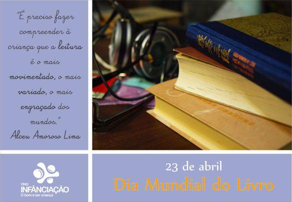 Dia mundial do livro!