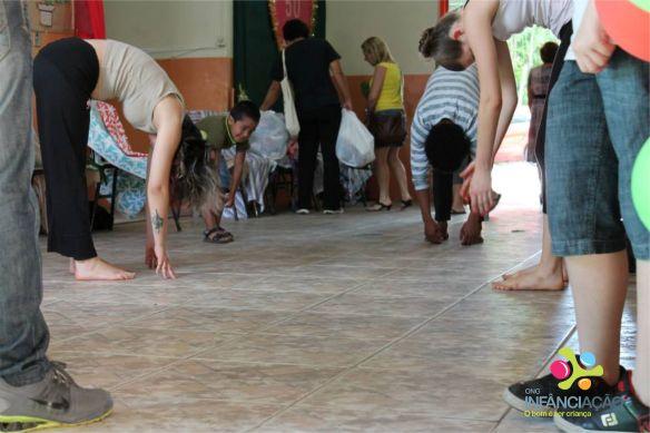 Oficina de capoeira. Foto: Assessoria de Comunicação do CAL