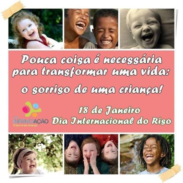 A ONG Infância-Ação deseja muitos sorrisos!