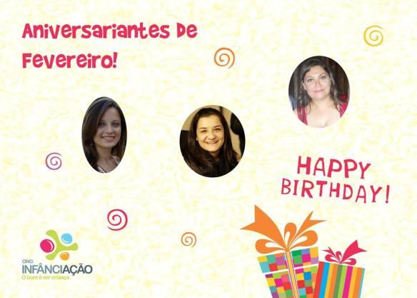 A ONG Infância-Ação deseja um feliz aniversário!